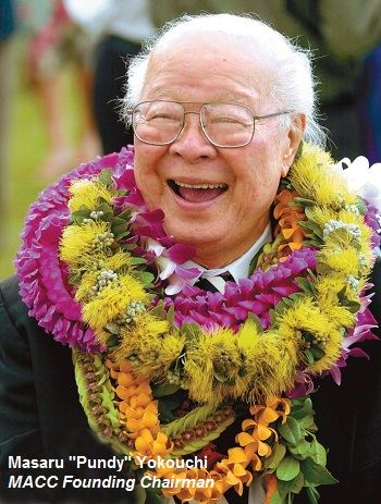 """Masaru """"Pundy"""" Yokouchi MACC Founding Chairman"""